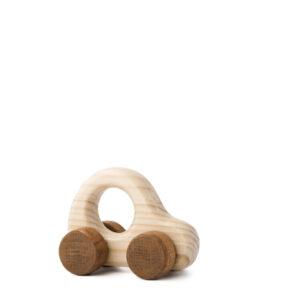 Autíčko Adámek - dřevěná hračka na kolečkách auto