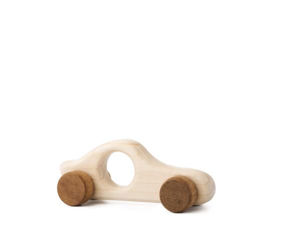 Autíčko Filípek dřevěná hračka na kolečkách