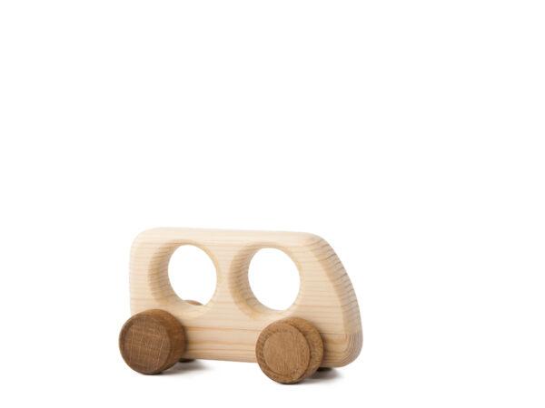 Autíčko Matýsek dřevěná hračka na kolečkách