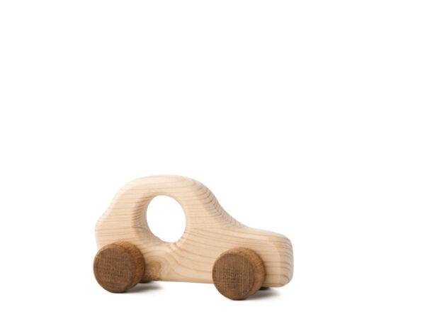 Autíčko Štepánek dřevěná hračka na kolečkách