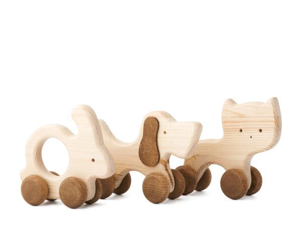 Dřevěná sada Domácí mazlíčci